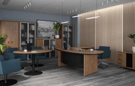 Status Eнран, кабинет руководителя, стол руководителя, кабинет директора, мебель для руководителя