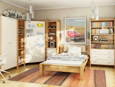 кровать для подростка, кровать подростковая, подростковая кровать, подростковая мебель, мебель для дома