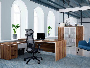 Gracce Enran, кабинет руководителя, стол руководителя, кабинет директора, мебель для руководителя