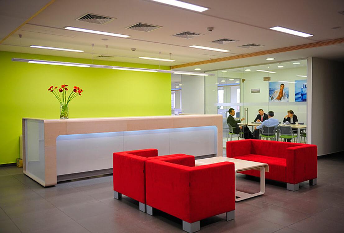 Проект меблирования офисного помещения