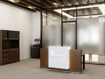 Quadro Reception Eнран, рецепция, кабинет руководителя, стол руководителя, кабинет директора, мебель для руководителя