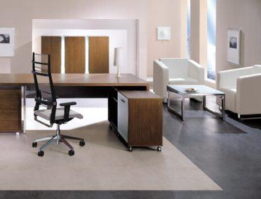 SL Eнран, кабинет руководителя, стол руководителя, кабинет директора, мебель для руководителя