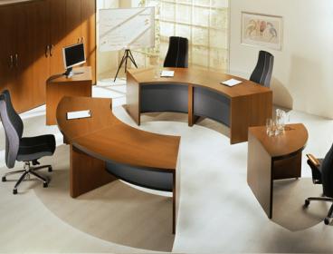 Status Lux Eнран, кабинет руководителя, стол руководителя, кабинет директора, мебель для руководителя