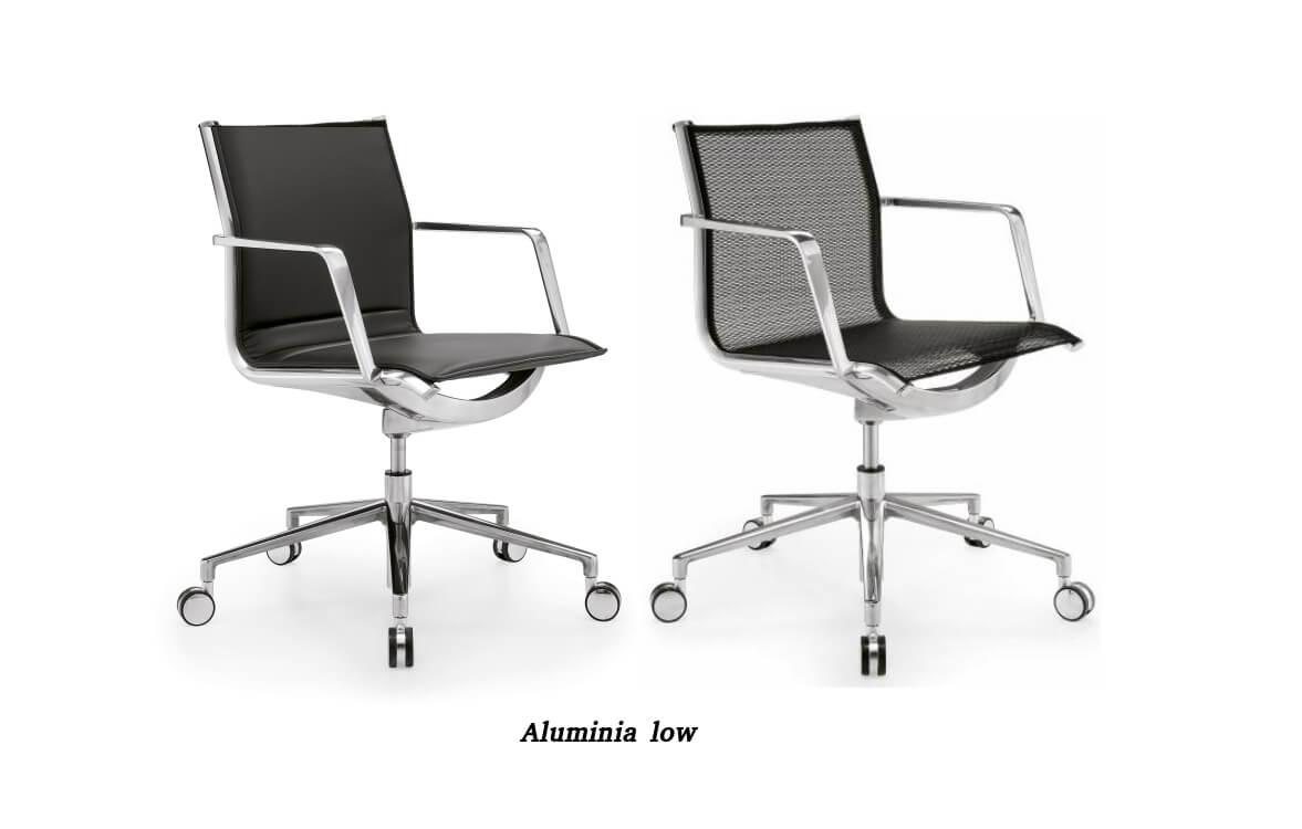 Aluminia кресла в офис Enran