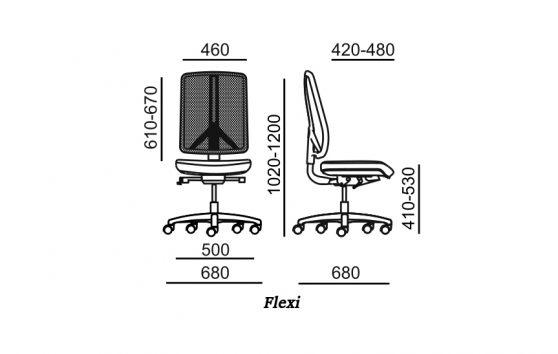 Flexi кресла для руководителей Енран