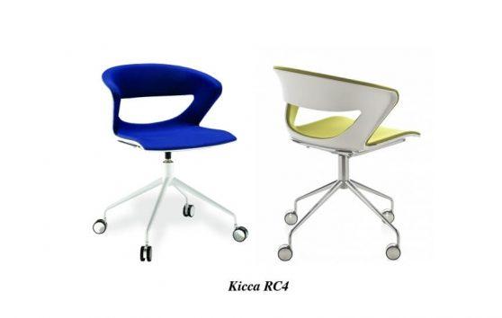 Kicca кресла в офис Enran