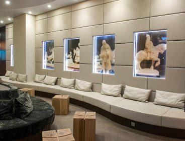 рецепция, зона ожидания, зона ожидания для клиентов, офисная мебель