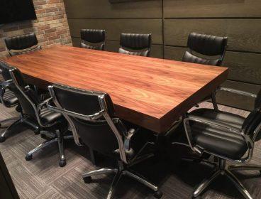 Офисная мебель, мебель для офиса, проект меблирования, Енран, стол для переговоров, компьютерные кресла