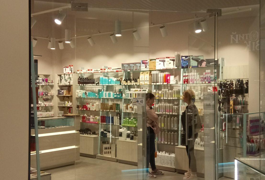 Дизайн-проект для сети магазинов, работа с дизайнером Германия