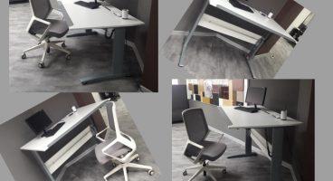 столы на подъемных опорах