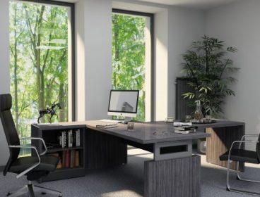 SL lite Eнран, кабинет руководителя, стол руководителя, кабинет директора, мебель для руководителя