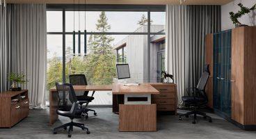 SL lite Enran, кабинет руководителя, стол руководителя, кабинет директора, мебель для руководителя