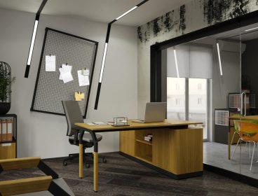 N.I.C.E. Eнран, кабинет руководителя, стол руководителя, кабинет директора, мебель для руководителя