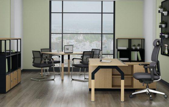 N.I.C.E. Енран, кабинет руководителя, стол руководителя, кабинет директора, мебель для руководителя