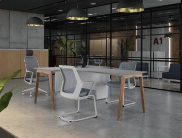 A1 Енран, кабинет руководителя, стол руководителя, кабинет директора, мебель для руководителя