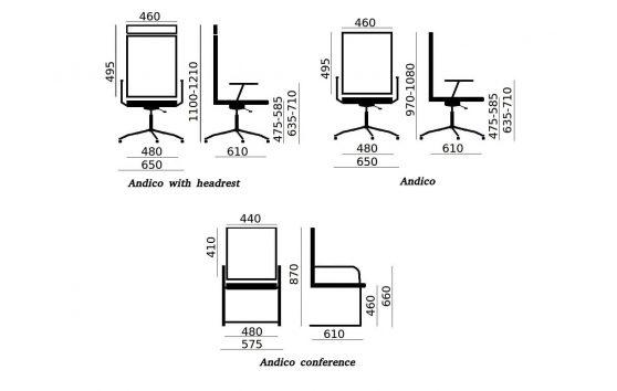 Endico conference кресла в офис Enran