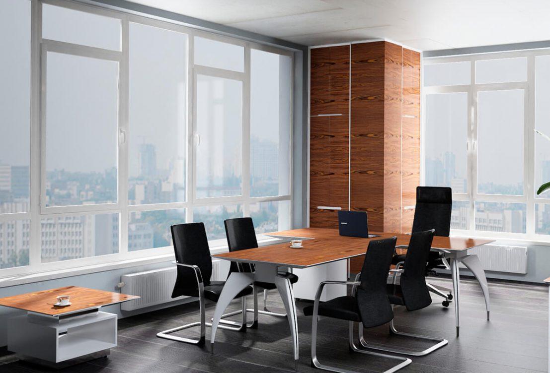 Меблирование офиса юридической компании