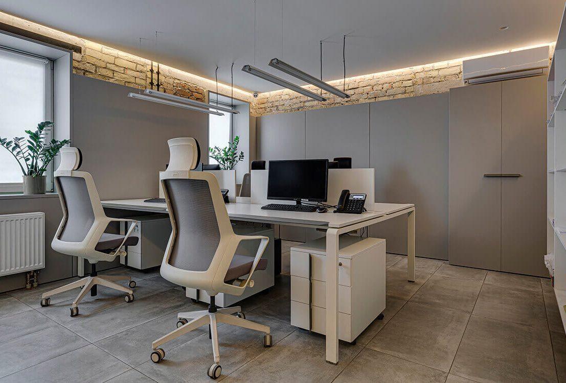 проект современного офиса Enran