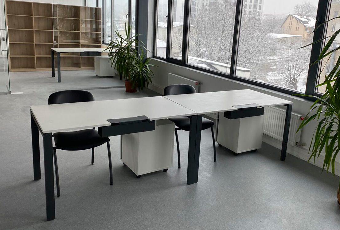 Проект офісу, Меблі для офісу «Авіокон проект» (м. Львів)